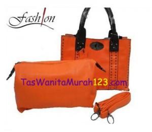Tas Tangan dan Tas Slempang Sequins Airon Tote Orange