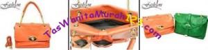 Tas Bahu dan Tas Slempang Virolita 2 Side Face Orange