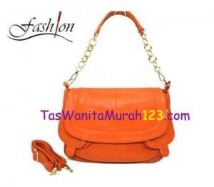 Tas Bahu dan Tas Slempang Virolita Front Pocket Orange