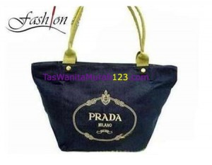 Tas Bahu Simple High End Biru Tua