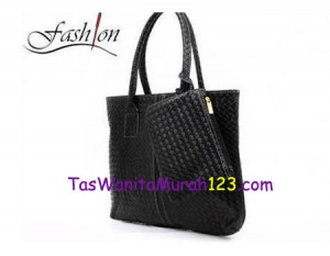 Tas Bahu Simple Woven One Hitam