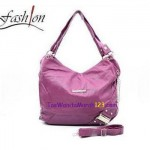 Tas Bahu & Slempang Side Ring Belt Ungu
