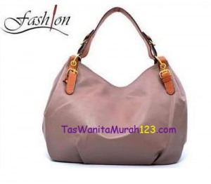 Tas Bahu Simple Shoulder Belt Coklat Muda