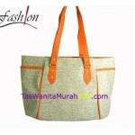Tas Bahu Simple Side Pocket Orange