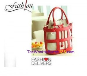 Toko Tas Online Menjual Tas 3 Style Hobo Stripe Box Red