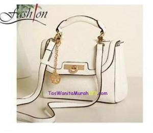 Tas Tangan & Slempang Mini Ornament Sacthel White