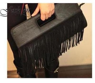 Toko Tas Online Menjual Clutch Simple Shred Black