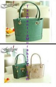 Tas Tangan Mini Tassel Love Lock Green Lime