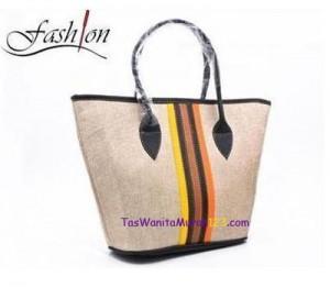 Tas Bahu Center Colour Hitam di Toko Tas Online