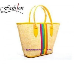 Tas Bahu Center Colour Kuning di TokoTasOnline