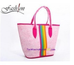 Tas Wanita Terbaru Tas Bahu Center Colour Pink