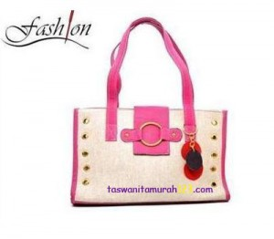Toko Tas Online Menjual Tas Bahu Cetral Big Ring Pink