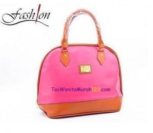 Toko Tas Online Jual Tas Bahu Oval Zipper Pink Fusia