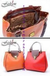 Toko Tas Online Menjual Tas Bahu Bentuk Kotak Orange