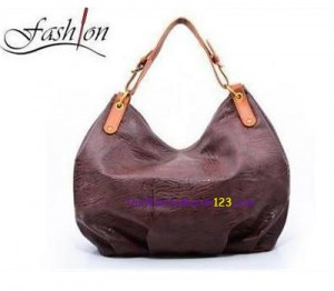 Toko Tas Online Tas Bahu Simple Shoulder Belt Coklat Tua
