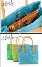 Tas Bahu Woven Simple Square Tosca