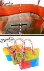 Tas Wanita Murah Tipe Rainbow 2 Sisi Orange