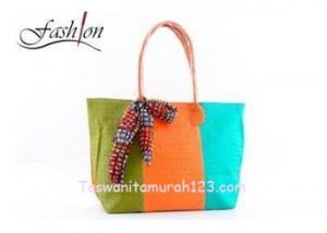Tas Wanita Murah Tipe Rainbow 1 Sisi Orange