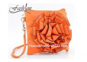 Tas Mini IMPORT Bunga Orange