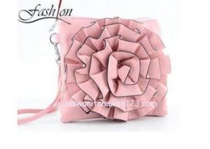 Tas Wanita Mini IMPORT Bunga Soft Pink