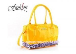 Tas Wanita Murah Furla Leopard Kuning