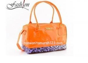 Tas Wanita Furla Leopard Orange
