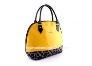 Tas Wanita Murah Furla Hobo Leopard Kuning