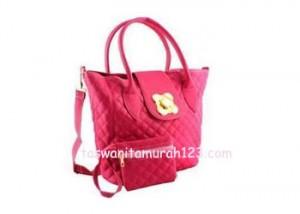 Tas Wanita Murah Tipe Rhombus Klip Pink