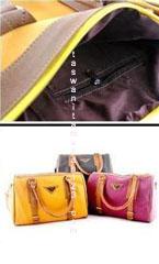 Tas Wanita Murah Tipe Two Belt Kuning Tua