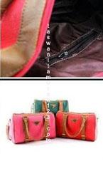 Tas Wanita Murah Tipe Two Belt Merah