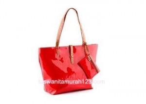 Tas Wanita Murah Tipe Simple Inline Klip Merah