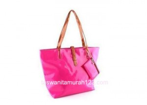 Tas Wanita Murah Tipe Simple Inline Klip Pink