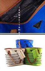 Tas Murah Tipe PR Perforated Biru