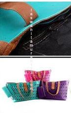 Tas Wanita Murah Inline Klip Perforated Tosca