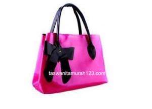 Tas Wanita Murah Hobo Ribbon Pink