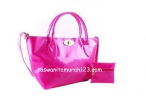 Tas Wanita Murah Color Metalic Klip Pink