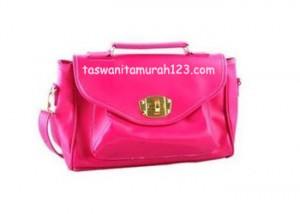 Tas Wanita Murah Satchel Klip Pink