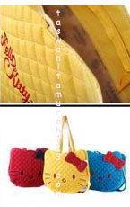 Tas Hello Kitty Head Kuning