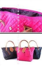 Tas Wanita Murah Rhombus Flap Pink