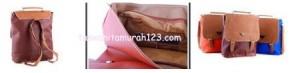Tas Wanita Murah PR 3 In 1 Cokelat Tua