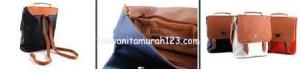 Tas Wanita Murah PR 3 In 1 Hitam