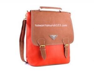 Tas Wanita Murah PR 3 In 1 Orange