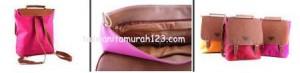 Tas Wanita Murah PR 3 In 1 Pink