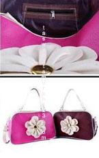 Tas Wanita Murah Square Flower Pink