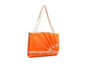 Tas Wanita Murah Feminim Orange
