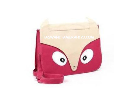 Tas wanita Murah Face Pink