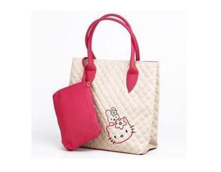 Tas Wanita Murah Kitten Tote Pink