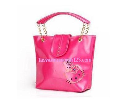 Tas Wanita Murah Kitten Satchel Pink