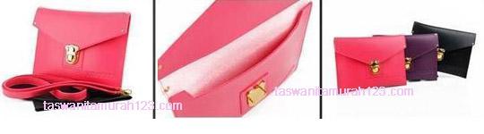 Tas Wanita Clutch Big Envelope VIROLITA Pink