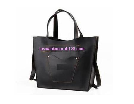 Tas Wanita Murah ZR Pocket Hitam